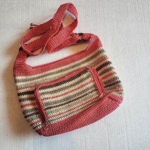 Brandless crotcheted Satchel bag